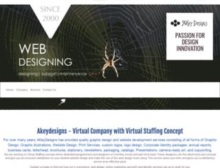 akeydesigns.com screenshot