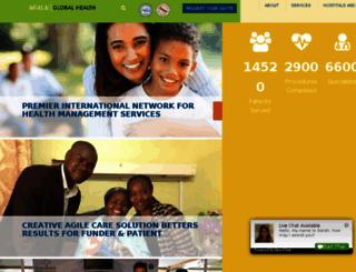 akglobalhealth.com screenshot