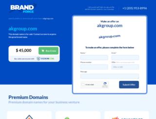 akgroup.com screenshot