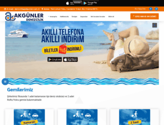 akgunlerdenizcilik.com screenshot