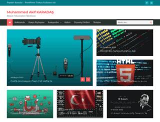 akifkaradas.com screenshot