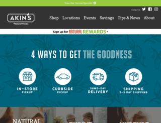 akins.com screenshot