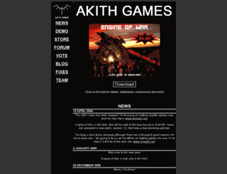 akithgames.com screenshot