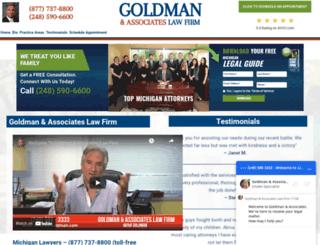 akivagoldman.com screenshot