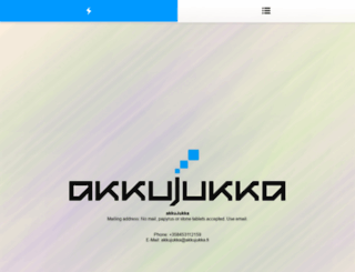 akkujukka.fi screenshot