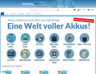 akkuwelt.de screenshot
