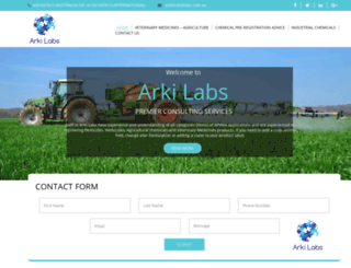 aklabs.com.au screenshot