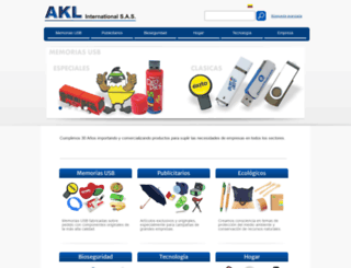 aklint.com screenshot