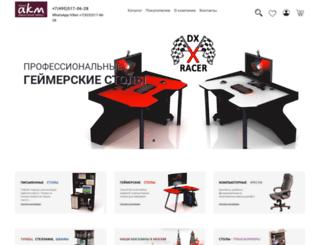 akm-mebel.ru screenshot