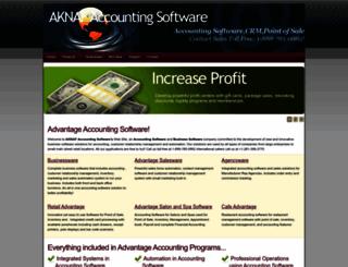 aknaf.com screenshot