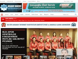 aksarayhaberci.net screenshot