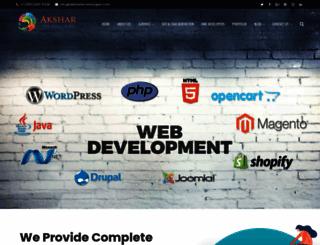 akshartechnologies.com screenshot