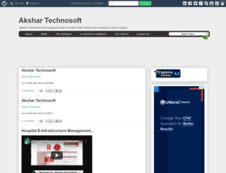 akshartechnosoft.blogspot.in screenshot