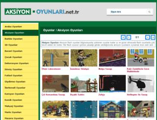 aksiyon.oyunlari.net.tr screenshot