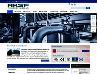 aksvalves.com screenshot
