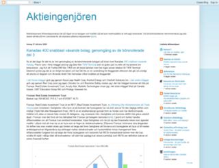 aktieingenjoren.blogspot.se screenshot