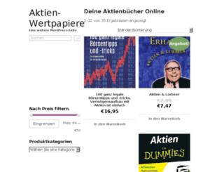 aktien-wertpapier.com screenshot