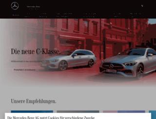 aktion.mercedes-benz.de screenshot