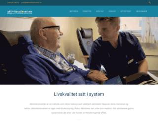 aktivitetsdosetten.com screenshot