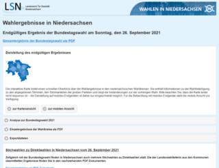 aktuelle-wahlen-niedersachsen.de screenshot