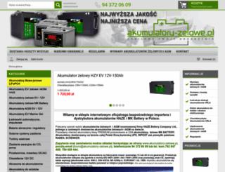 akumulatory-zelowe.pl screenshot