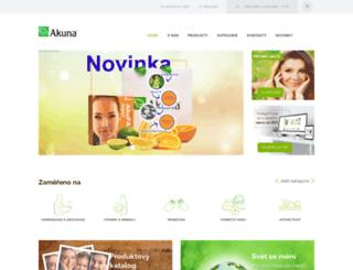 akuna.cz screenshot