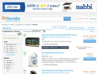 akvaria.heureka.sk screenshot