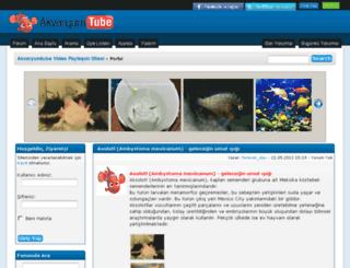 akvaryumtube.com screenshot