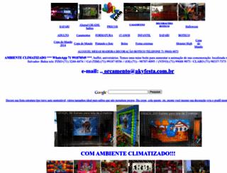 akyfesta.com.br screenshot