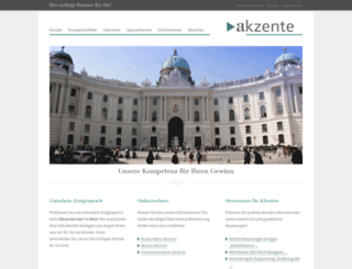 akzente.at screenshot