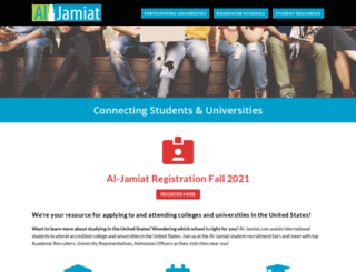 al-jamiat.com screenshot
