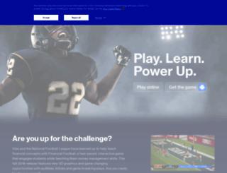 alabama.financialfootball.com screenshot