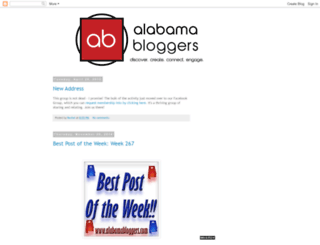 alabamabloggers.com screenshot