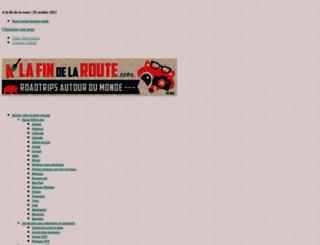 alafindelaroute.com screenshot