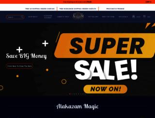 alakazam.co.uk screenshot