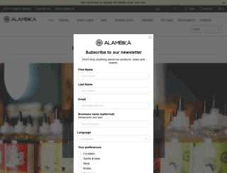 alambika.ca screenshot