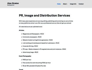 alan.straton.org.za screenshot