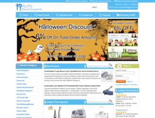 alandental.com screenshot