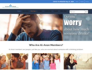 alanon.alateen.org screenshot