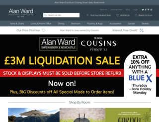 alanwardfurniture.co.uk screenshot