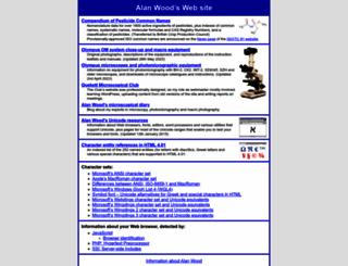 alanwood.net screenshot