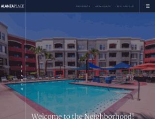 alanzaplace.com screenshot