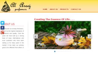 alareejperfumers.com screenshot