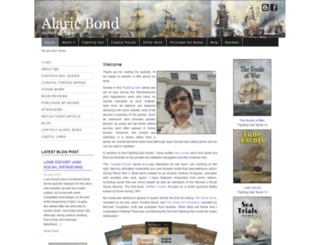 alaricbond.com screenshot