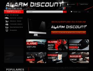 alarm-discount.com screenshot