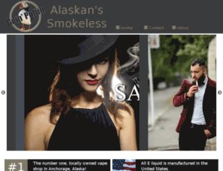 alaskanssmokeless.com screenshot