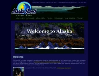 alaskaquestcharters.com screenshot
