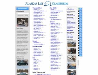 alaskaslist.com screenshot