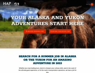 alaskatourjobs.com screenshot