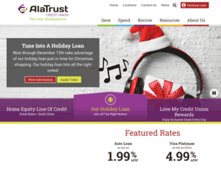 alatrustcu.com screenshot